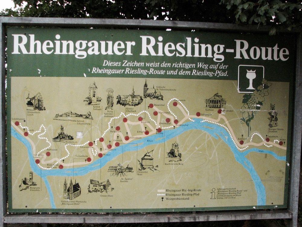 rheingau-mapa